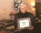 Joe Melson Inducted into Rockabilly Hall of Fame, 2002